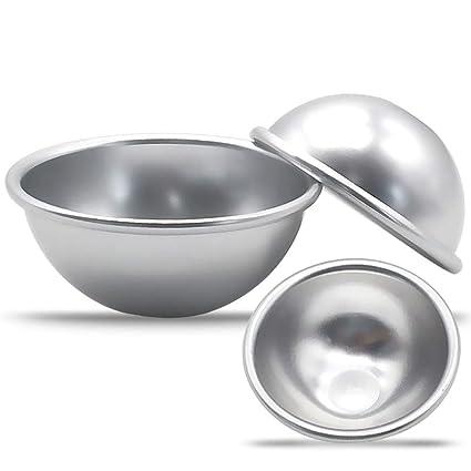 LanLan 6PCS, Molde de Cocina de aleación de Aluminio, Molde Multifuncional de Huevo Tarta