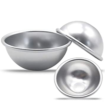 LanLan 6PCS, Molde de Cocina de aleación de Aluminio, Molde Multifuncional de Huevo Tarta, de flan Hornear, Herramienta para Tarta: Amazon.es: Hogar