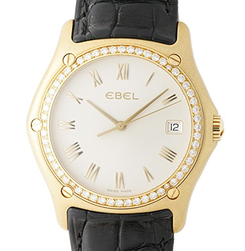 Ebel Classic Wave analog-quartz womens Watch 8187F44/6235136 (Certified Pre-owned)
