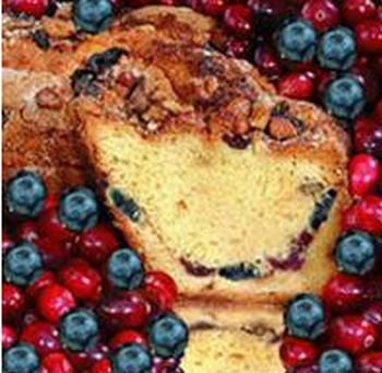 Patriot Coffee Cake (My Grandma PTLGCL Large- 10 in.- 3.1 lbs Lower Fat Patriot Coffee Cake)