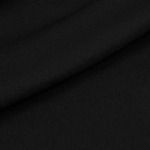 HARRYSTORE 2017 Leggings Mujer Skinny Patchwork Malla Yoga Leggings Fitness Deportes Capri Pantalones Pantalones de bolsillo del teléfono Negro