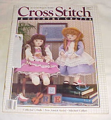 Cross Stitch & Country Crafts Mar/Apr 87 1987