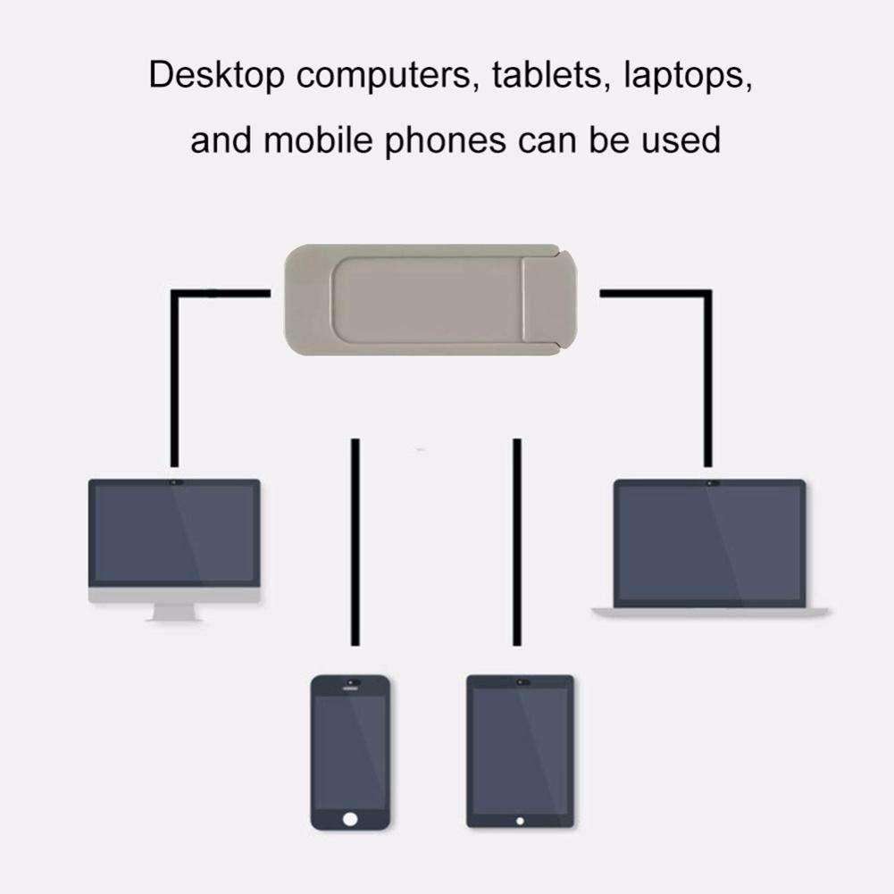 iMac iPad Smartphone MacBook Computadora FOONEE C/ámara Web Slide Slide,Dise/ño Ultra Delgado Cubierta para C/ámara Web Slide Compatible Laptop Pro PC