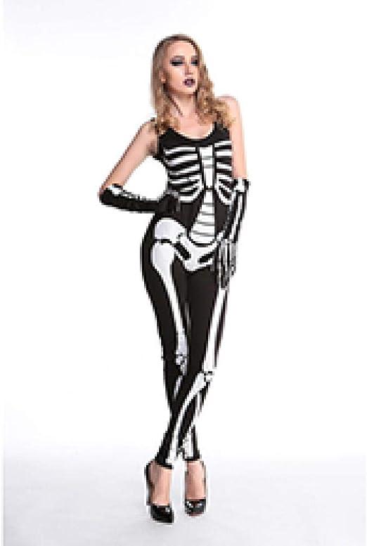 wnddm Nuevo Coco Fiesta de Disfraces de Halloween Adulto Mujer ...