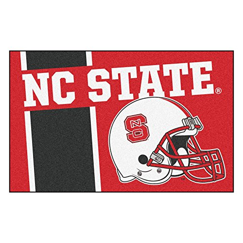 FANMATS 18764 NC State Uniform Inspired Starter (Nc State Rugs)