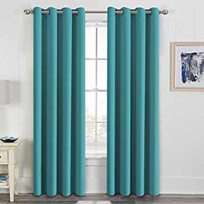 H.Versailtex Thermal Insulated Blackout Drapes Soft and Smooth ...