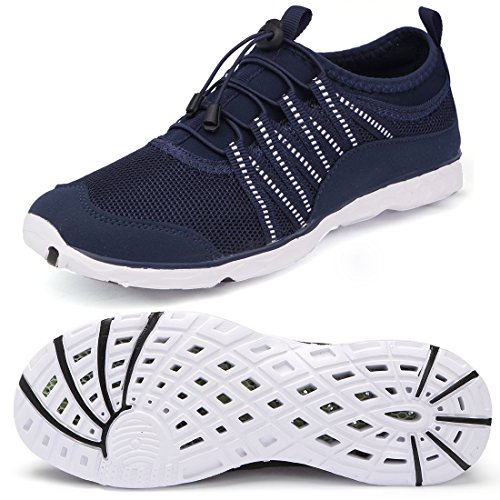 Aqua Socks Quick-Dry Water Shoes Womens Beach Swim Shoes Quick-Drying Aqua Shoes Pool Shoes for Surf Yoga Water Aerobics Beach Walking Swim