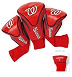 MLB Washington Nationals Contour Head Cover (Pack of 3), Red