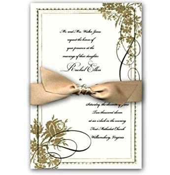 photograph about Printable Gold Foil named : Anna Griffin Bouquets Ornate Gold Foil Marriage ceremony