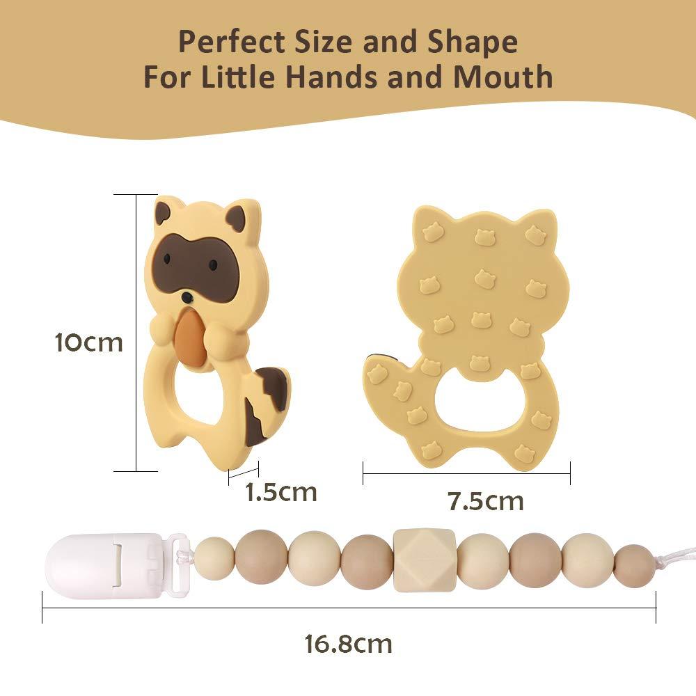 Amazon.com: TYRY.HU Juguetes para dentición de bebé ...