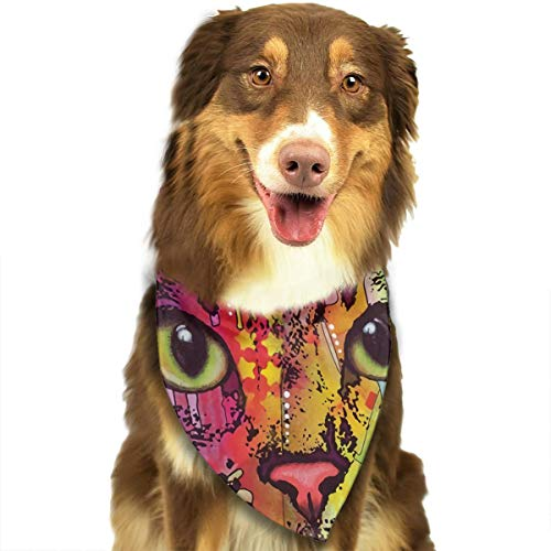 FRTSFLEE Dog Bandana Dean Russo Confident Cat Scarves