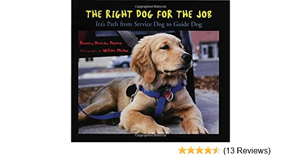 The Right Dog for the Job: Ira's Path from Service Dog to Guide Dog download pdf