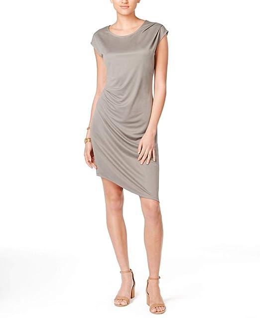 a5c7bca56709a1 Bar III Asymmetrical Sheath Dress at Amazon Women s Clothing store