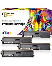 Toner Bank with CHIP Compatible Toner Cartridge Replacement for Brother TN227 TN-227 TN223 TN-223 for Brother HL-L3230CDW MFC L3770CDW MFC-L3750CDW MFC-L3710CW HL-L3290CDW HL-L3210CW Toner Printer Ink