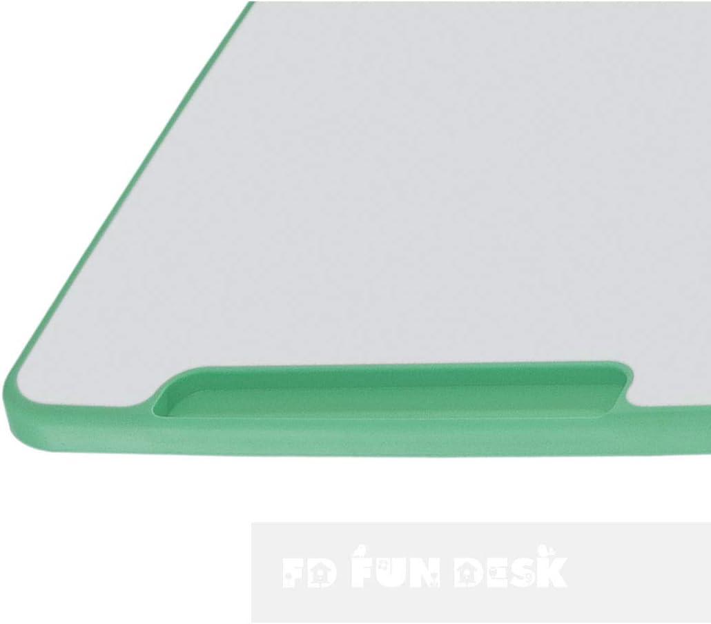 664x474x540-760 mm con Sedia FD FUN DESK Piccolino III Green-Tavolo da Scuola Regolabile in Altezza Verde