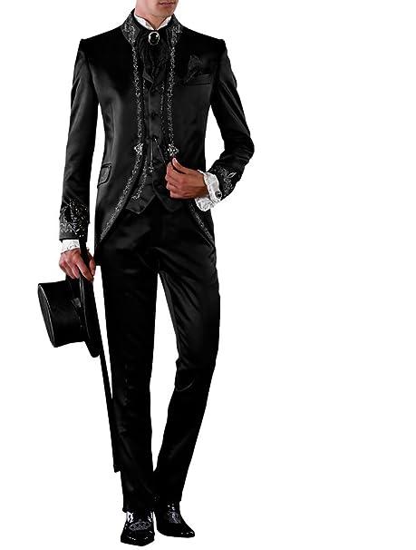 Suit Me Me - Traje - para Hombre Negro XXL: Amazon.es: Ropa ...