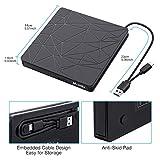 External DVD Drive, M WAY USB 3.0 External CD