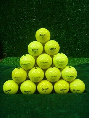 48 Srixon Q-Star Yellow Golf Balls 5A Grade