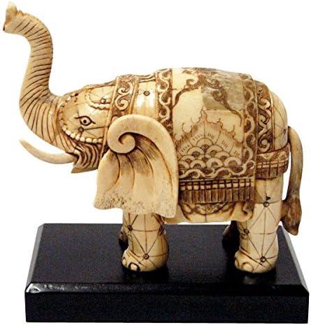 Amazon Com T Trove Elephant Ox Bone Carving Home Kitchen