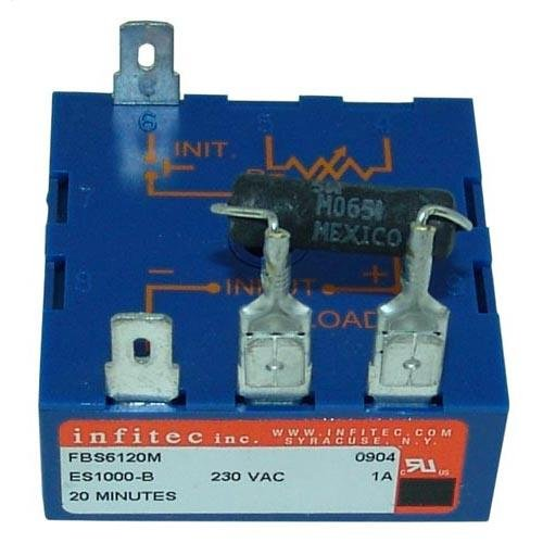 Lincoln 369417 Time Delay Relay 2P 1A 230V 20 Min For Lincoln Oven Series 1300 # 441234 ()
