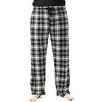 #FollowMe Ultra Soft Fleece Men's Plaid Pajama Pants With Pockets