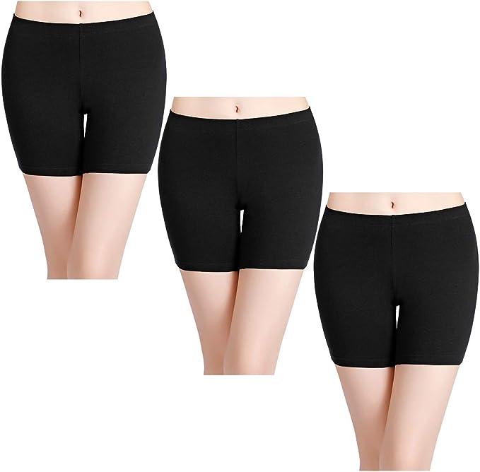 Women Boyshorts Panties Female Cool Shorts Skin-friendly Boxer Briefs 4 Colors