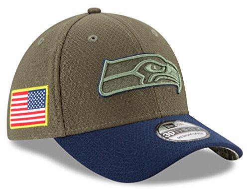 Seattle Seahawks New Era NFL 39THIRTY 2017 Sideline