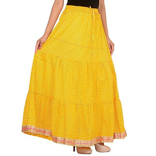 Algodón 40 Rangsthali De Larga Diseñador Trabajo Con X Cintura Elástica Mujer Para No Pulgadas Falda 38 tamaño Longitud Después Encaje 26 Pulgadas Fiestas Estirar Oqwxr5q