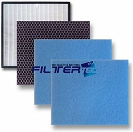4-pack Compatible Replacement Air Purifier Filter for COWAY AP-1503CH//AP-1503CHE