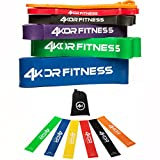 Cheap 4KOR Fitness 6 Pull-up Band Set + 6 Minibands