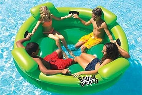 Shock Rocker Kids Swimming Pool Float Raft Tube