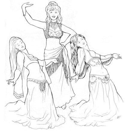 Marvash's Turkish-Arab Vest Pattern (Belly Dance)]()