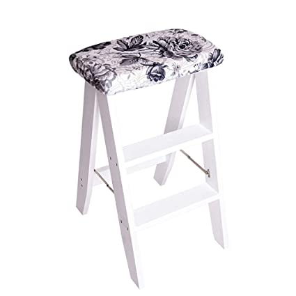 Fantastic Amazon Com Step Stool Folding Wooden Mini Step Ladder Stool Gmtry Best Dining Table And Chair Ideas Images Gmtryco