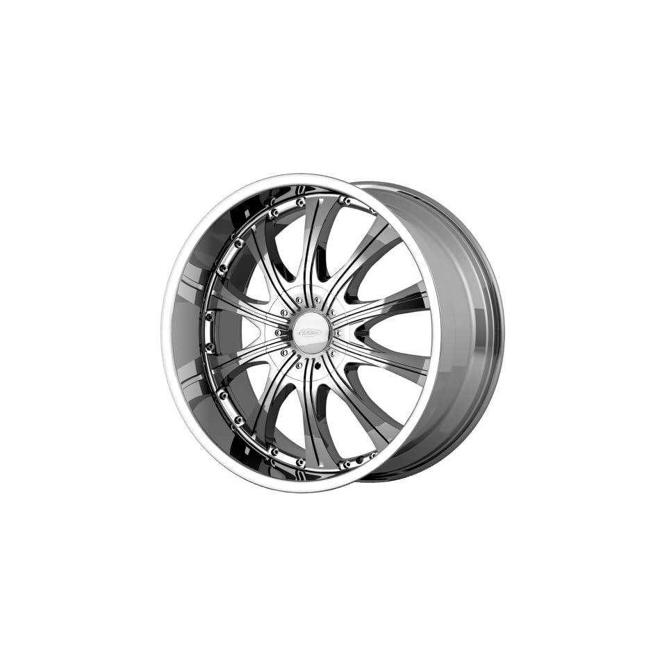 Diamo DI030 22x9.5 Chrome Wheel / Rim 5x5.5 & 5x150 with a 35mm Offset and a 110.50 Hub Bore. Partnumber DI03022986235 Automotive