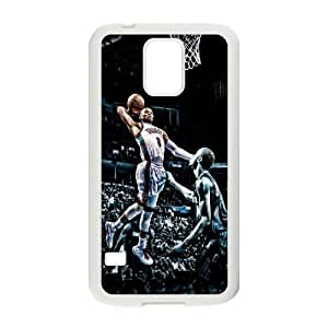 C-EUR Customized Print Russell Westbrook Hard Skin Case Compatible For Samsung Galaxy S5 I9600