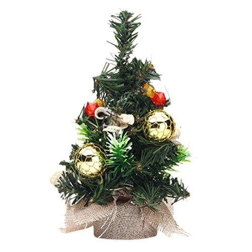 amazoncom smartcoco 20cm mini christmas tree xmas decor desk table decoration festival desktop home party ornaments toys games - Small Purple Christmas Tree