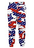 Goodstoworld American Flag Men/Women 3D Joggers Pants Trousers Sport Track Sweatpants Baggy