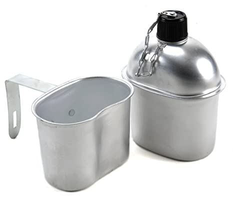 US WW2 Canteen and Canteen Cup Repro