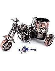 ZHAMS Handmade Crafts,Creative office desktop accessories,Harley Davidson metal pen holder,M08