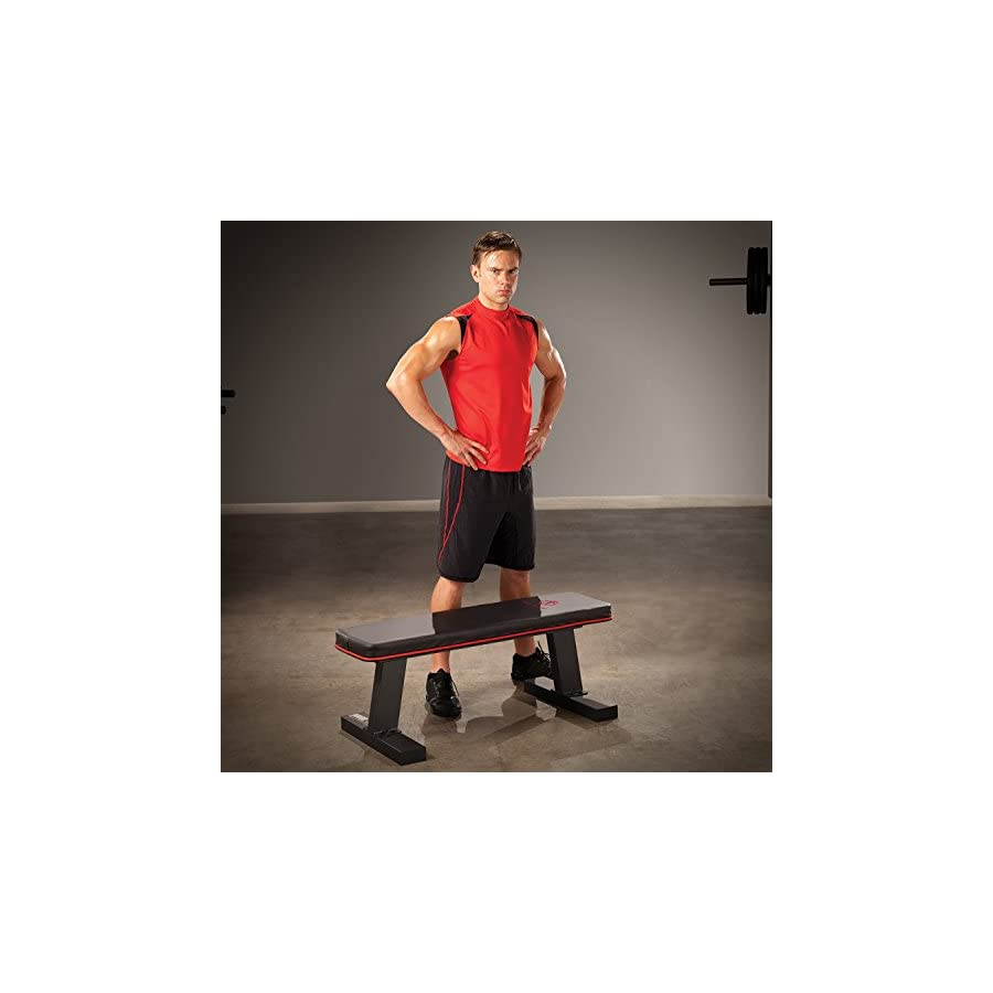 Marcy Deluxe Flat Bench