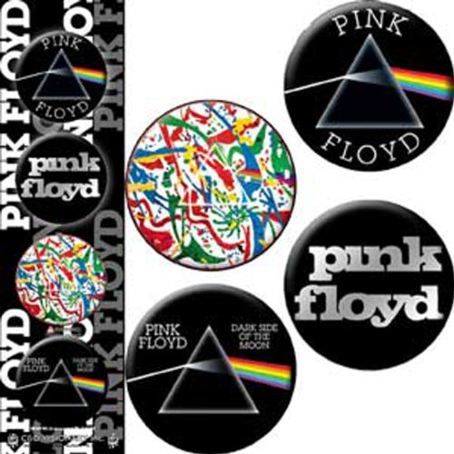 Licenses Products Pink Floyd Dark Side of The Wall Assorted Artworks 1.25