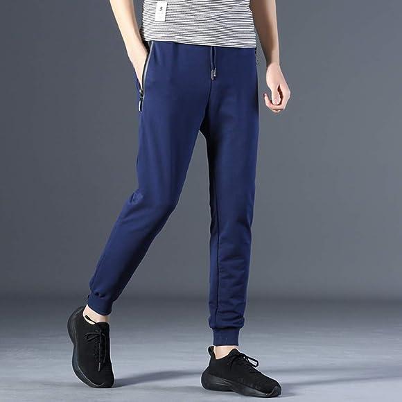 beautyjourney Pantalones de chándal de los Hombres Pantalones ...