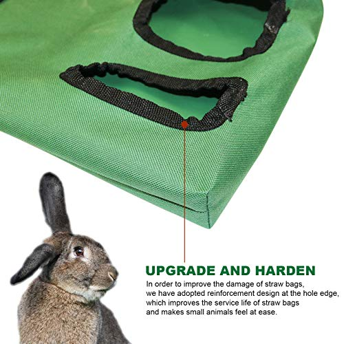 Rabbit Guinea Pig Small Animal Hay Feeding Bag,guinea Pig Rabbit Hay Feeder,used for Guinea Pigs,hamsters,chinchillas 600d Oxford Cloth Fabric,disposable Diapers Health Cleaning Pads (styie-1)