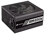 Corsair RMx Series, RM650x, 650 Watt (650W), Fully Modular Power Supply, 80+ Gold Certified, 10 Year Warranty - CP-9020091-NA