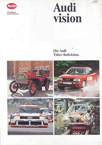 1991 Audi Quattro Race Car Video Brochure Motorsport