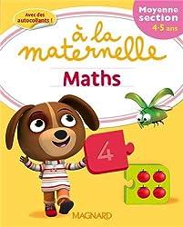 Maths à la maternelle Moyenne section (MS : 4-5 ans)
