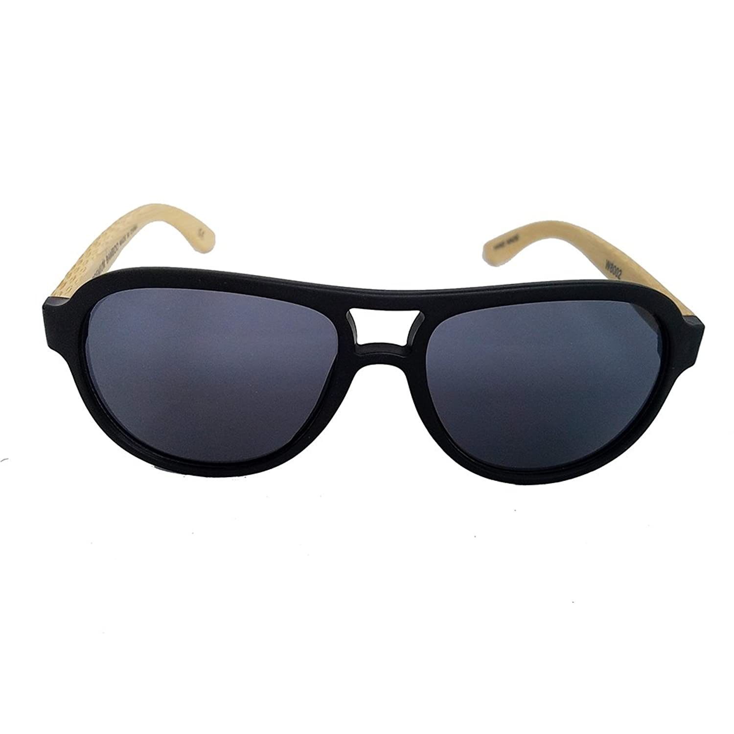 AnL Vision Handmade Bamboo Arms Fashion Sunglasses Unisex