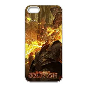 The Elder Scrolls IV Oblivion iPhone 5 5s Cell Phone Case White Customized Toy pxf005-7825524