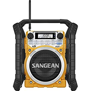 Sangean U4 AM/FM-RBDS/Weather Alert/Bluetooth/Aux-In Ultra Rugged Rechargeable Digital Tuning Radio