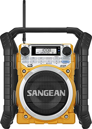 Sangean U4 AM/FM-RBDS/Weather Alert/Bluetooth/Aux-In Ultra R